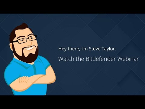 A Demo of Bitdefender's Cloud Security for MSPs