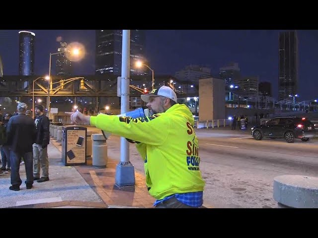 Atlanta Snoop Dogg Concert - Street Preaching January 2019 - Kerrigan Skelly