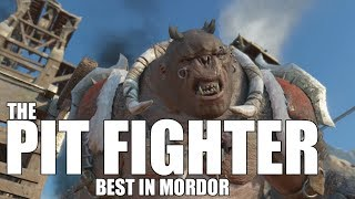 Middle Earth Shadow of War : Cool Orc Encounters & Quotes #76 PIT FIGHTER Olog-hai