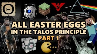 The Talos Principle All Easter Eggs And Secrets | Episode 1