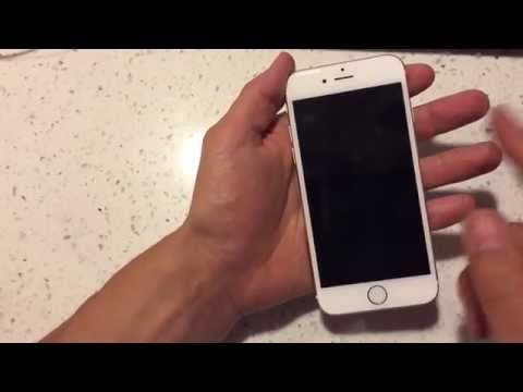 How to reset iphone 6 plus black screen