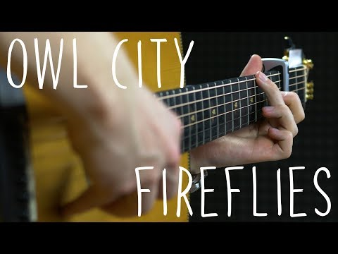 Owl City - Fireflies - Fingerstyle Guitar Cover