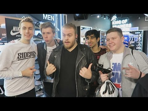 STRATFORD WESTFIELD WITH THE SQUAD!