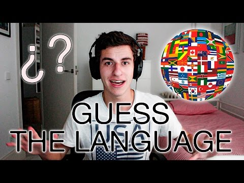 GUESS THE LANGUAGE | Language Challenge (English with subtitles)