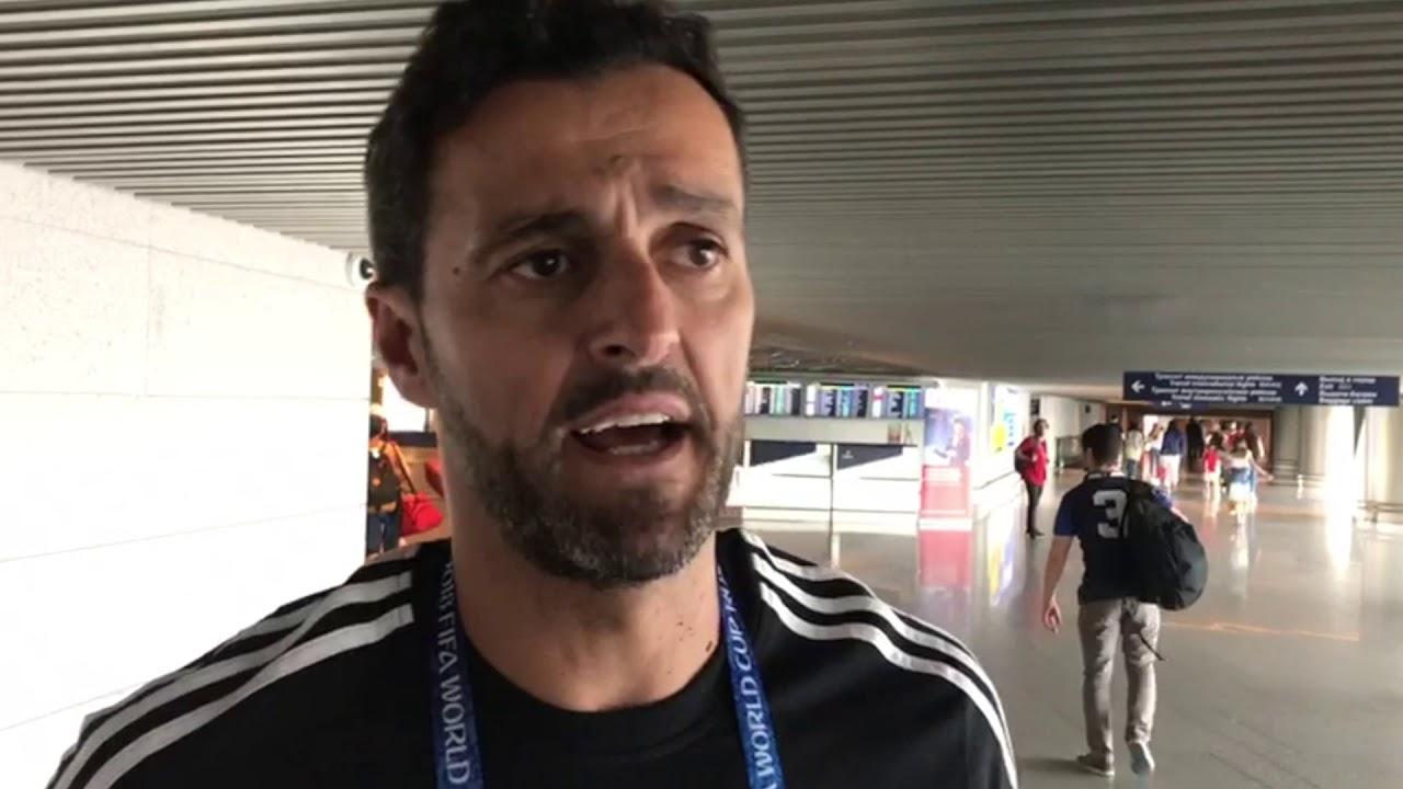 Kiko Narváez, durante una entrevista para ElDesmarque.