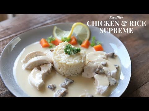 Chicken And Rice With Supreme Sauce ( Big Challenge To Get Right)