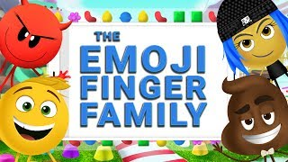 The Finger Family Song | The Emoji Movie | WigglePop | Nursery Rhymes | Family Friendly Songs