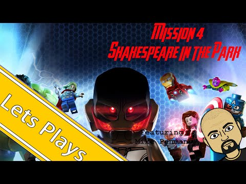 Let's Play: Lego Marvel's Avengers Mission 4, Shakespeare in the Park!