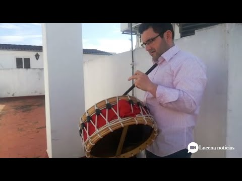 VÍDEO: Así han abierto los tambores y torralbos una Semana Santa de Lucena sin procesiones