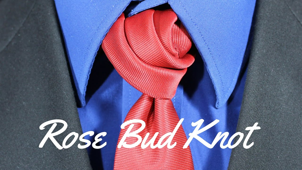 How to tie a tie rose bud knot youtube ccuart Choice Image