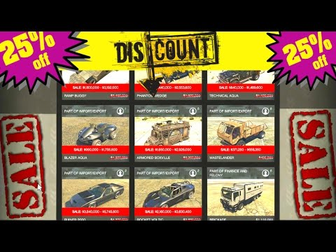 Double DISCOUNT on ALL Special Vehicles - CHEAPEST Way to get the ROCKET VOLTIC & RUINER - GTA5