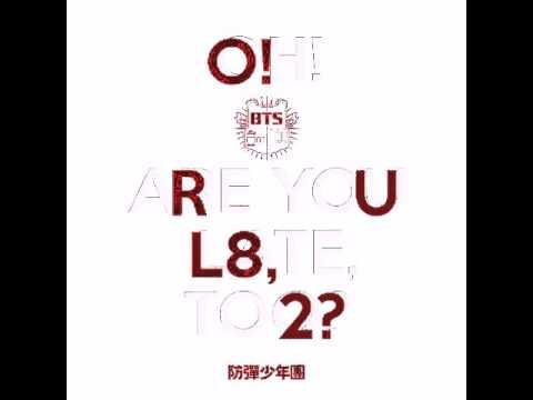 BTS (방탄소년단) - Skit : R U Happy Now? [AUDIO]