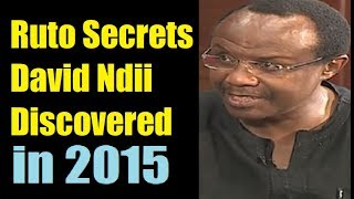 David Ndii's Ruto Prediction On KTN