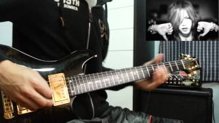 The Gazette Pledge Solo 弾いてみた ギター Guitar Cover By Herman