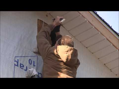 How To Install A Vinyl Gable Vent