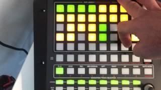 DJ Inferno On Akai APC20