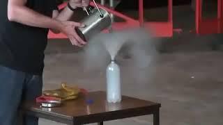 Жидкий азот и куча шариков для пинг-понга
