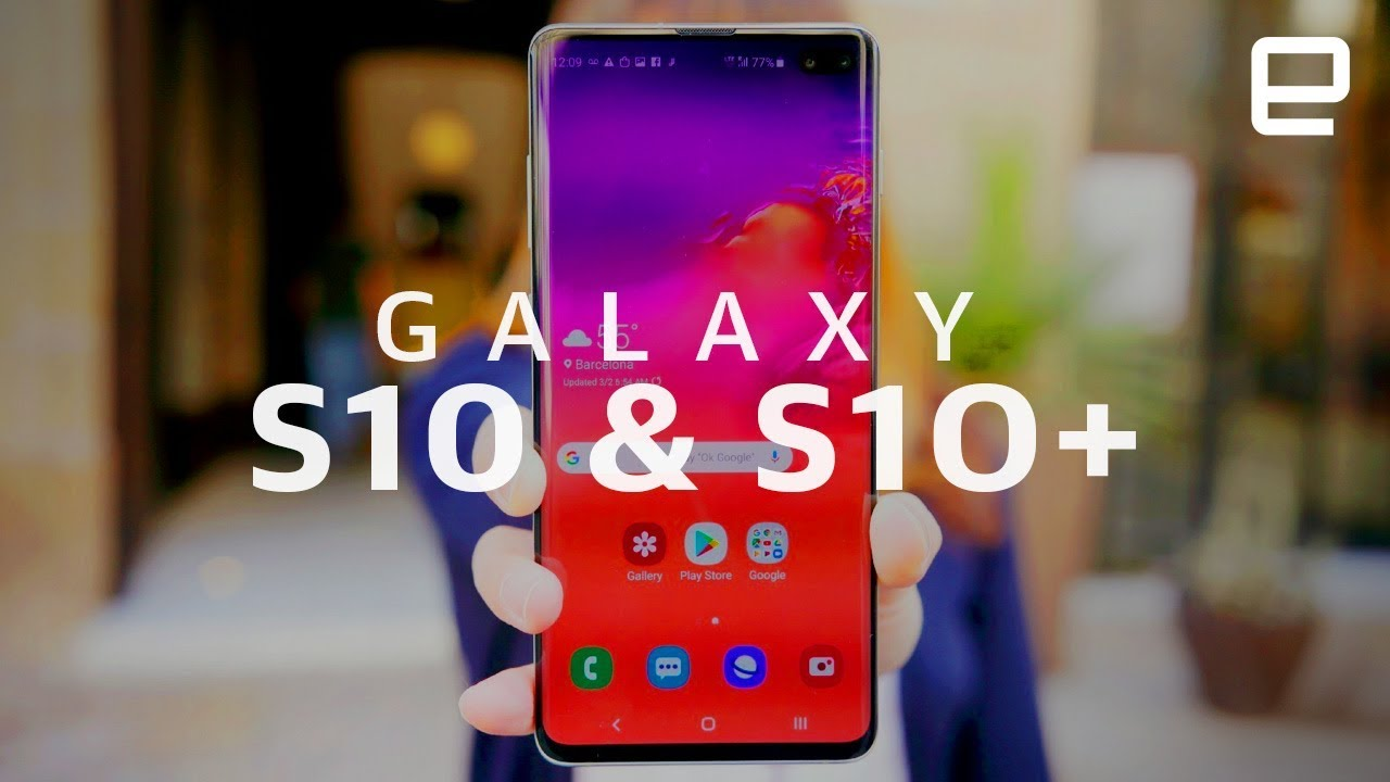 The Galaxy S10 and S10+ are the pinnacles of Samsung's S-line