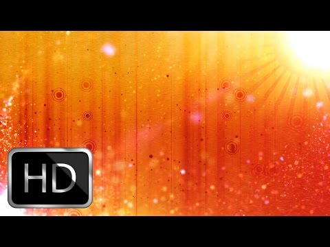 Wedding Intro Video Effects -Warm Sun Motion Background thumbnail