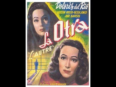 """""""La otra"""" - Dolores del Río, Agustín Irusta, Víctor Junco (Roberto Gavaldón, 1946)"""