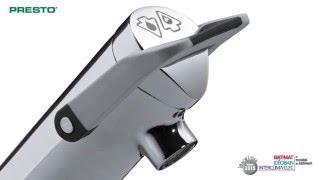 PRESTO NEO® DUO, a new standard in self-closing tapware