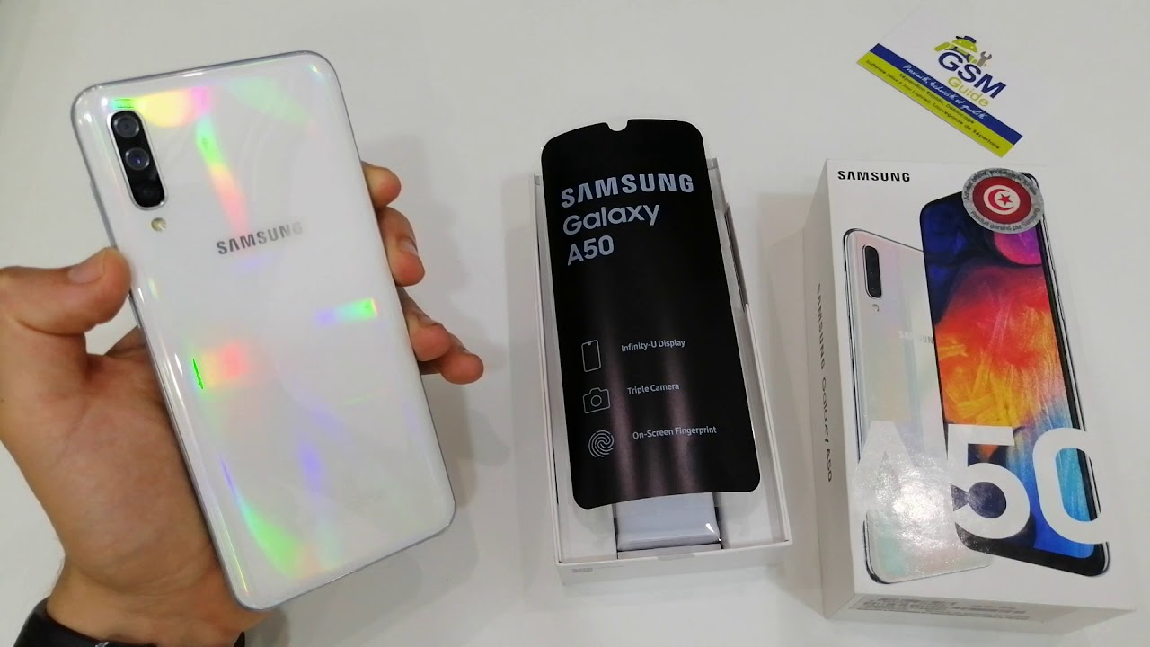 Samsung Galaxy A50 White Edition Unboxing First Impressions