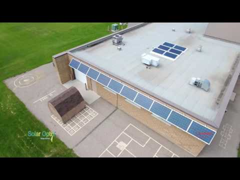 Solar Optix Energy Services - Drone flyby's of our photovoltaic installations