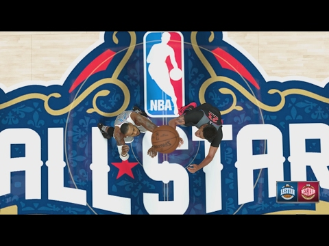 NBA 2K17 ALL STAR GAME 2017 in New Orleans