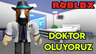 👨🏻⚕️ Doktor Oluyoruz 👨🏻⚕️ | Hospital Life Roleplay | Roblox Türkçe
