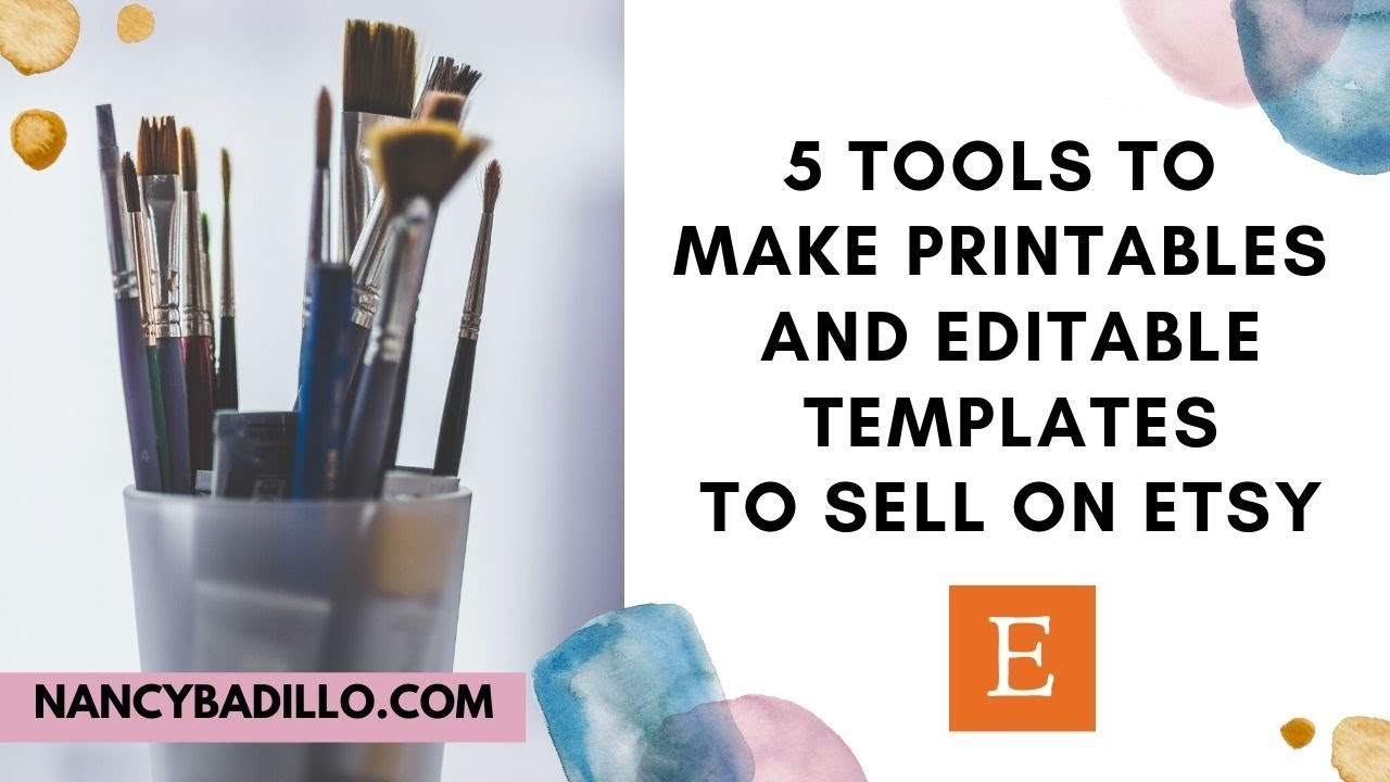 How To Make Printables To Sell On Etsy | Sell Printables On Etsy | Selling Digital Prints On Etsy