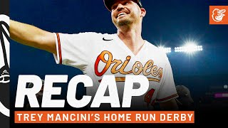 Trey Mancini Steals the Show at the 2021 Home Run Derby ⚾ Baltimore Orioles