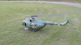Полет военного вертолета Ми 8 на радиоуправлении, зачетная модель(, 2016-11-11T09:57:23.000Z)