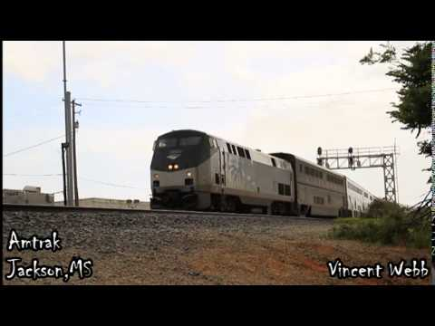 Amtrak Departing Jackson,MS