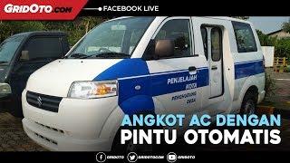 Coba Langsung Suzuki APV Niaga, Angkot Yang Punya AC & Pintu Otomatis