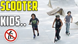 Scooter Kids are Scooter Kids #3 (Skaters vs Scooters)