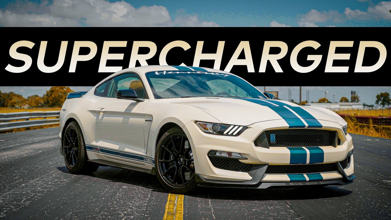850 HP Mustang GT350 // SUPERCHARGED by HENNESSEY