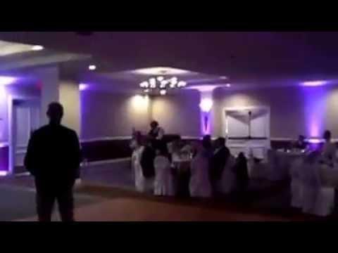 80s Wedding Party Entrance