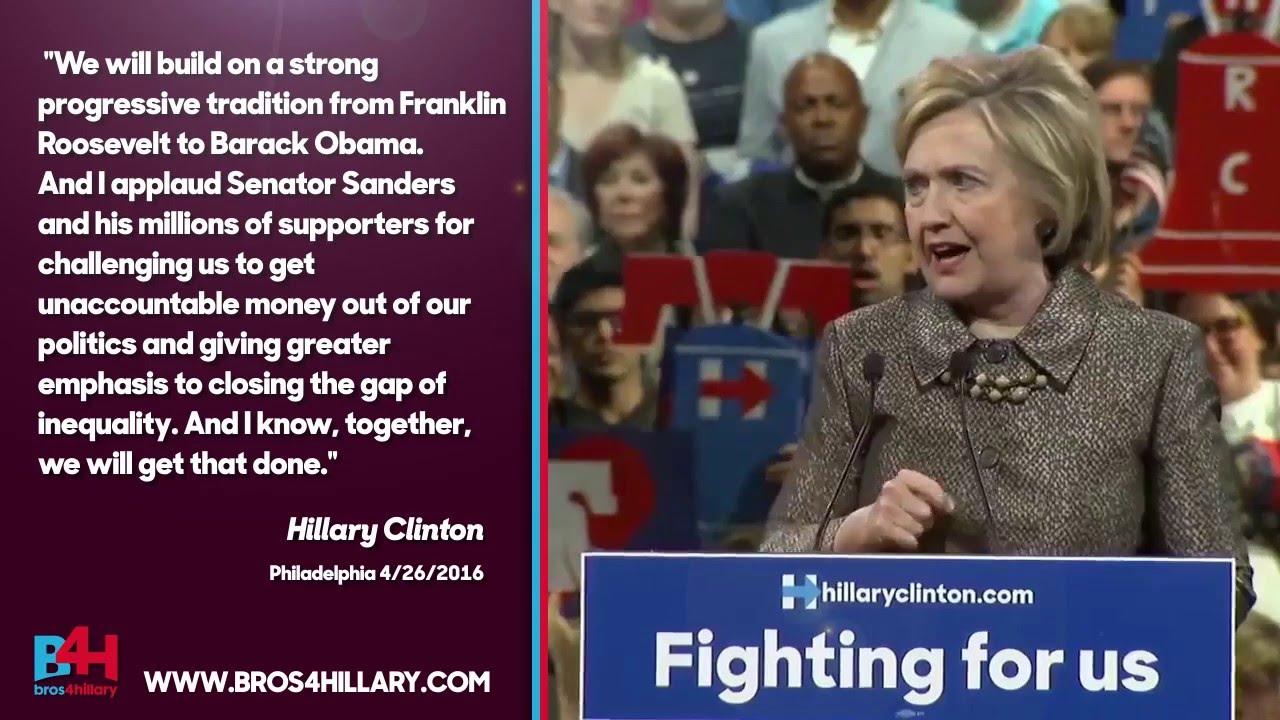 "Progressive Retrieve Quote Hillary Clinton Quotes  ""we Will Build On A Strong Progressive"