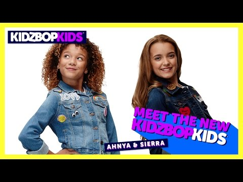 Meet The New KIDZ BOP Kids - Ahnya & Sierra
