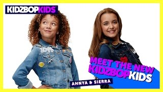 Meet The New KIDZ BOP Kids - Ahnya & Sierra
