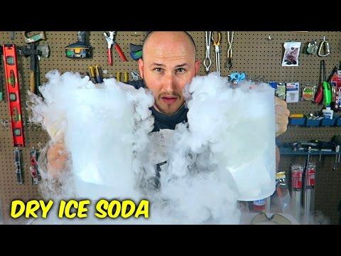 Dry Ice Soda