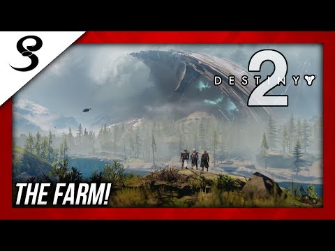 """THE FARM"" SOCIAL SPACE! DESTINY 2 BETA!"