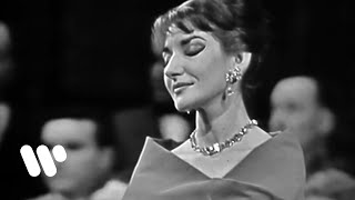 """Maria Callas sings """"Casta Diva"""" (Bellini: Norma, Act 1)"""
