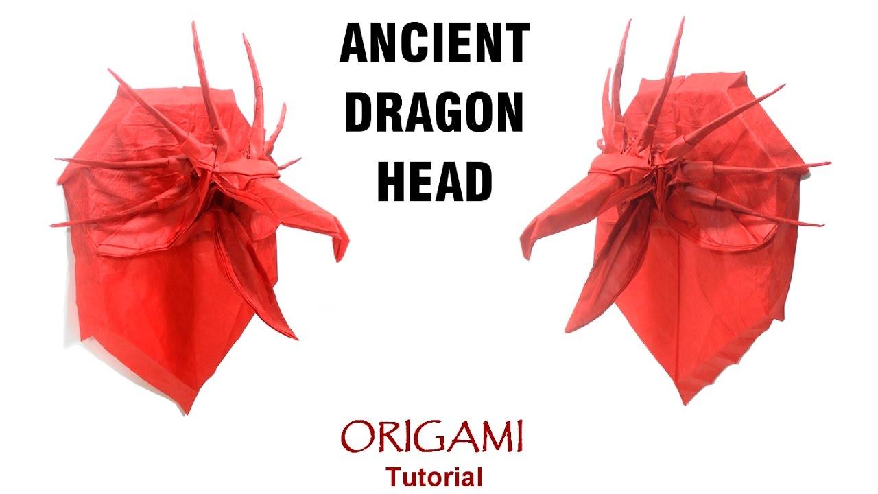 Origami Dragon Head Instructions | 720x1280