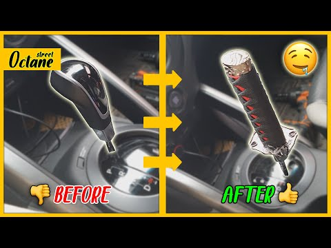 How to Install an Aftermarket Shift Knob on Your AUTOMATIC Hyundai Veloster!