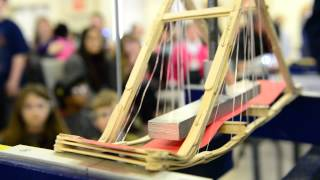 Popsicle Stick Bridge Building Competition