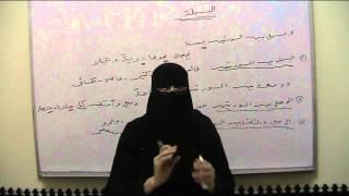 (12) باب البسملة من دورة شرح الشاطبية للأستاذة ليلي احمد