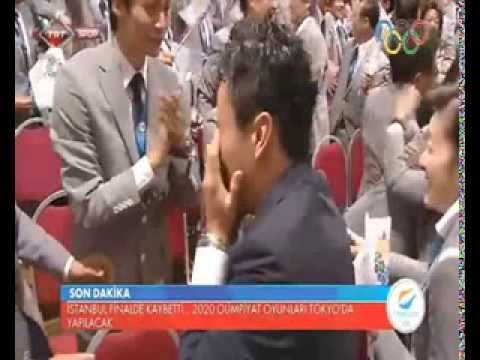Japan Tokyo 2020 Olympic Bid Winner VIDEO Announcement  Tokyo Japan host 2020 Summer Olympic Games