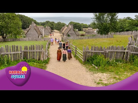 The Plimoth Plantation  - More American History On The Learning Videos Channel