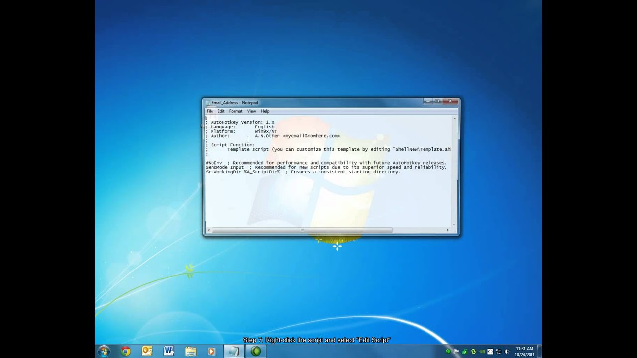 Create a Hot Key (Shortcut) to Perform Tasks in Windows
